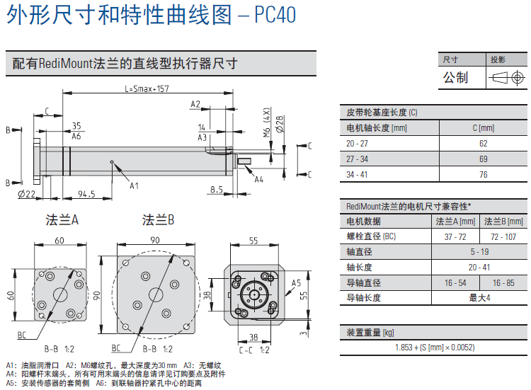 Thomson PC40电动缸